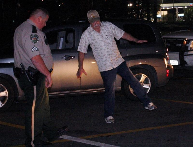 Sobriety test in dallas